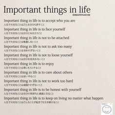 Importan things in life(人生で大切なこと) | 女性のホンネ川柳 オフィシャルブログ「キミのままでいい」Powered by Ameba