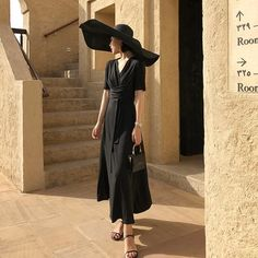 Style the Willow Wrap Dress with a large straw hat for some extra touch of glamour. Black Swan, Nymph, Wrap Dress, Glamour, Cotton, Outfits, Dresses, Style, Fashion