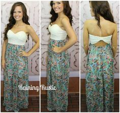 Hawaiin Island Maxi Dress