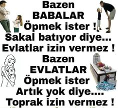 Baba acısı Cool Words, Favorite Quotes, Quotations, Affirmations, Islam, Sayings, Memes, Life, People