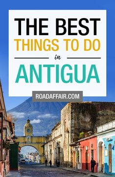 Antigua, Guatemala is a beautiful city and to make sure you experience the best things Antigua has to offer we made a list of 11 things to do in the city ! San Pedro Guatemala, Guatemala City, Travel Couple, Family Travel, Atitlan Guatemala, Stuff To Do, Things To Do, Honduras Travel, Lake Atitlan
