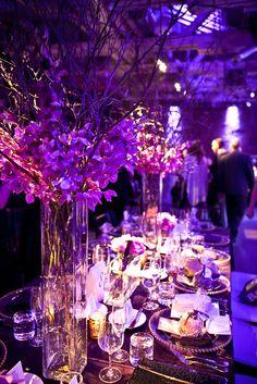 Dramatic Purple Wedding by Cynthia Martyn  @Steelasophical #Steelband #Wedding www.Steelband.co.uk