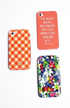 kate spade new york millionaire quote iPhone 5 case | Nordstrom