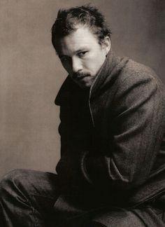 Heath Ledger and Christopher Nolan by AnnieLeibovitz