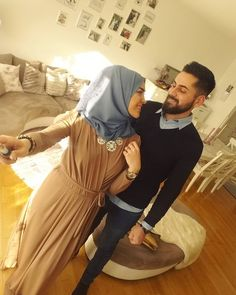 Cute Muslim Couples, Romantic Couples, Cute Couples, Hijab Niqab, Hijab Outfit, Love Matters, Hijab Style, Love In Islam, Life Partners