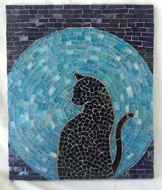 .Mosaic Art & Craft Supplies available online www.mosaictiles.com.au  #mosaiccats #mosaiccraft #mosaicart
