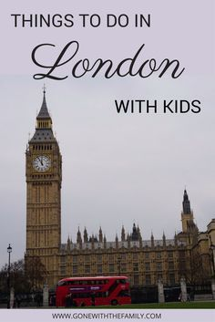 London with Kids - 14 top attractions and activities for families visiting London, England | things to do in London | #london #england #londonwithkids #unitedkingdom #familytravel | Gone with the Family