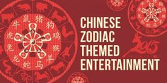 Zodiac Themed Entertainment   Chinese New Year   Animal Themed Entertainment  The Chinese animal zodiac, or Shengxiao, is a repeating cycle of 12 years that makes up the Chinese calendar. Each year in the cycle is represented by a different animal, and it is believed that the animal that corresponds to the year you were born in will have a profound influence on your life, affecting your personality and your destiny!
