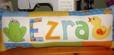Your place to buy and sell all things handmade Applique Pillows, Appliques, Machine Embroidery, Bed Pillows, Pillow Cases, Handmade Gifts, Projects, Etsy, Riveting