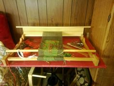 A loom for weaving