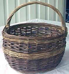 basket weaving, willow