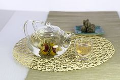 Our Grand Lotus Tea Set is one of the best teapots to watch our beautiful Flowering Tea Bloom.