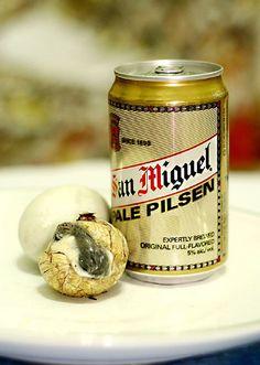 Balut + Beer