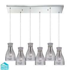 Buy the Elk Lighting Polished Chrome Direct. Shop for the Elk Lighting Polished Chrome Menlow Park 6 Light Wide Multi Light Pendant with Rectangle Canopy and Hand Blown Glass Shades and save. Clear Glass Pendant Light, Glass Shades, Chandelier Lighting, Light, Westmore Lighting, Pendant Lighting, Elk Lighting, Chrome Chandeliers, Polished Chrome
