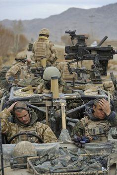 "British Pathfinder Platoon (aka ""Bastard Son of the SAS"") - special reconnaissance unit and an integral part of the 16 Air Assault Brigade"