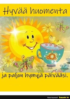 Finnish Language, Le Pilates, Boho Beautiful, Smash Book, Morning Quotes, Funny Texts, Winnie The Pooh, Good Morning, Pikachu