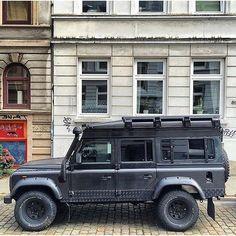 Street regal in Berlin.  #Landrover #Defender 110