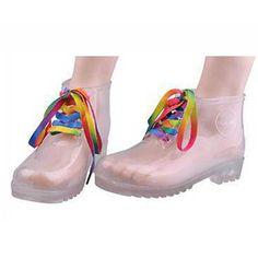 Clear Rain Boots - why???
