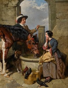 John Frederick Herring Snr. THE WATERING PLACE