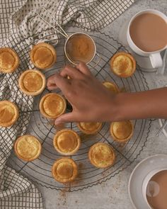 The simplest EVER milk tart cups made with a lekker local ingredient Cremora Donut Recipes, Milk Recipes, Tart Recipes, Sweet Recipes, Dessert Recipes, Baking Tips, Baking Recipes, Koeksisters Recipe, Milktart Recipe
