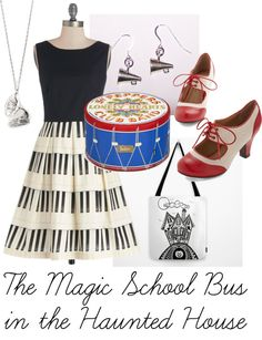 The Magic School Bus In the Haunted House - Dress Like Ms. Frizzle