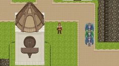 Soldiers walking through Holarii village. Game Dev, Indie Games, Soldiers, Core, Walking, Kids Rugs, Home Decor, Rpg, Homemade Home Decor
