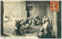 مدرسة قرآنية إبان الاستدمار الفرنسي -  الجزائر