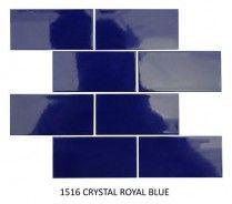 1516 CRYSTAL ROYAL BLUE 73*148MM - Bathroom Bizarre Royal Blue, Mosaic, Crystals, Bathroom, Inspiration, Art, Washroom, Biblical Inspiration, Art Background