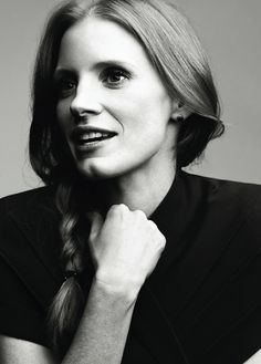 Jessica Chastain @Tara Harmon Williams this is who should play you in the movie version of you know what :)