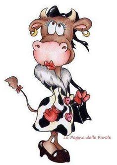 675 Meilleures Images Du Tableau Illustrations Vaches