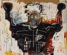 Boxer by Jean-Michel Basquiat, 1982