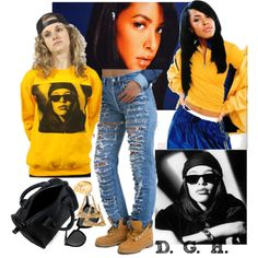Designer Clothes, Shoes & Bags for Women Aaliyah Outfits, Dope Outfits, Swag Outfits, Dress Outfits, Fashion Outfits, School Outfits, Dresses, Outfit Goals, Outfit Sets