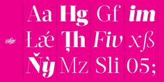 Acta Display font download