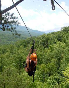 Week 22 of 52 Things 52 Weeks: Ziplining #bucketlist