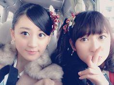 """Kei Jonishi x Akari Yoshida """"3日ぶりの沖縄(^.^)! 風が強すぎるので横毛なしのポニーテールです。  これで髪の毛気にせず踊れるー♪"""""""