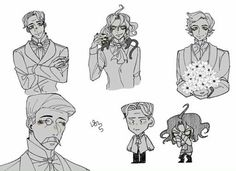 Jekyll And Mr Hyde, Gothic, Adventure Time Art, Arte Pop, Manga Comics, Hyena, Kawaii Anime, Comic Art, Character Design