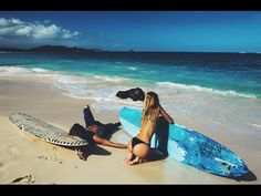 He more than likely used an underwater housing for his canon 5D Mark lll. He said somewhere on social media that was his camera. Also he uses the drones to attach his 5D and that's how he's able to get his awesome shots.Jay Alvarrez - HOME (Alexis Ren) - YouTube