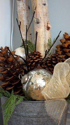 Haus Design: Scandinavian-Inspired Christmas simply natural home decor for winter.