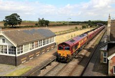 RailPictures.Net Photo: 66085 DB Schenker GM Class 66 at Brocklesby Junction, Lincolnshire, United Kingdom by Jonathan King