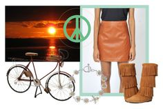 """""""Seventies Sunset"""" by pinkmartinicollection ❤ liked on Polyvore featuring Dot & Bo, Martick and Minnetonka"""