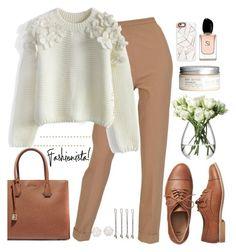 """Fashionista!"" by justincase-i ❤ liked on Polyvore featuring Gap, Hermès, Chicwish, H&M, LSA International, MICHAEL Michael Kors, Armani Beauty, Casetify, Vidal Sassoon and Chanel"
