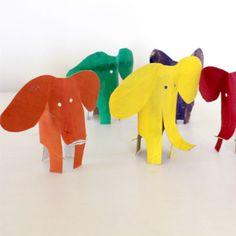 standing tp roll elephants