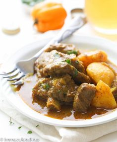 Jamaican Curry Goat. I've never tasted goat, maybe one day.