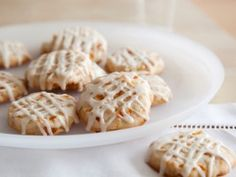 Apricot and Nut Cookies with Amaretto Icing from CookingChannelTV.com