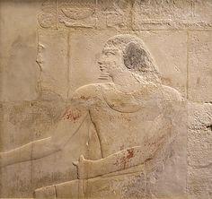 Relief of Ni'ankhnesut. Egypt,  Saqqara, early 6th Dynasty,  2323-2200 B.C.