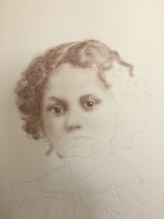 Fannie, from the Beloved: Legacy of Slavery collection by Mary Burkett - about halfway completed.