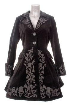 Manteau gothique femme noir - Style Victorien - Victorian coat