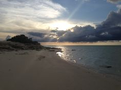 A sunset in Parrot Cay by COMO, Turks and Caicos