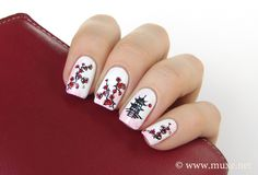 Sakura blossom nails