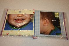 "Ziploc ""My Body"" Book - I Can Teach My Child!"